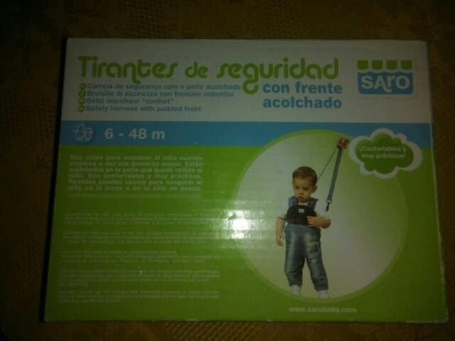 e6f585e80 Tirantes de seguridad para niños de segunda mano por 7 € en Madrid ...