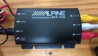 Alpine KCE-415i iPod Video