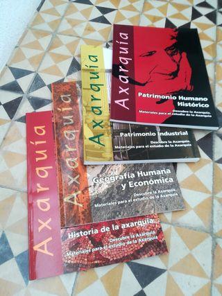 Libros sobre la Axarquía (Málaga)