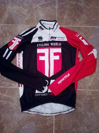 chaqueta maillot bicicleta sport ful bodyfit pro