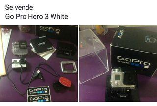 Go pro hero 3 white