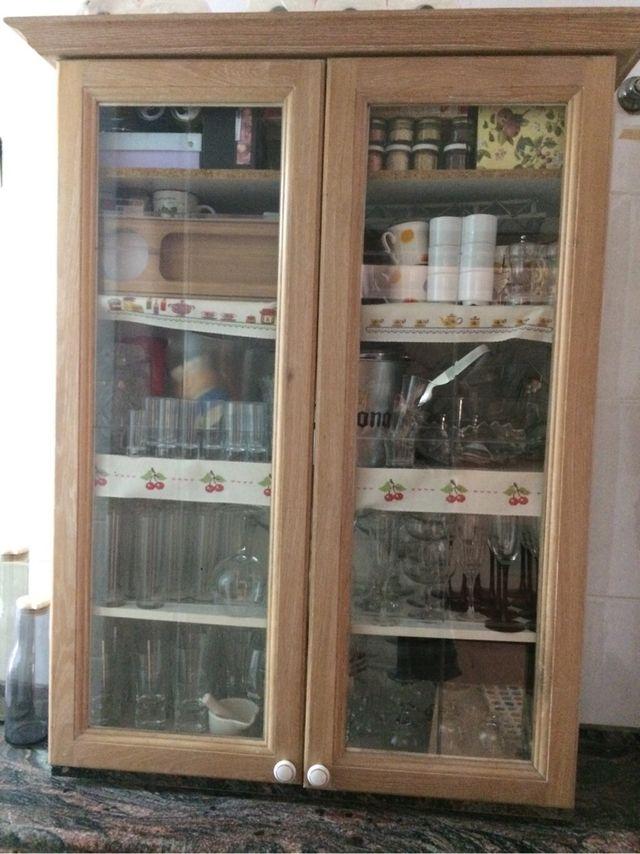 Mueble cocina vitrina de segunda mano por 49 en valencia - Muebles de cocina en valencia ...