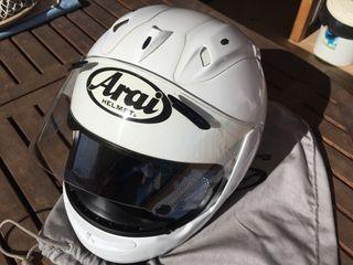 Casco moto integral arai