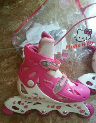 patines hello kitty