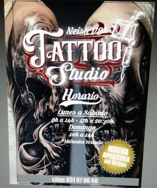 Salon de tatuajes