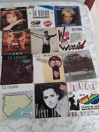 Disco vinilo,Singles.
