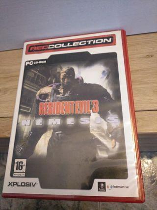 resident Evil 3 nemesis para PC