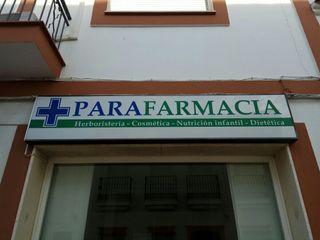 Letrero Parafarmacia