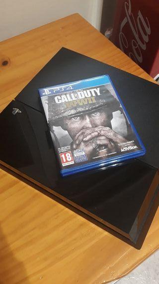 Play Station 4 + Call Of Duty WW2 SIN MANDO