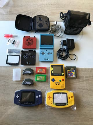 Lote Game Boy Advance 101