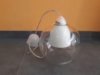 Lámpara bola cristal