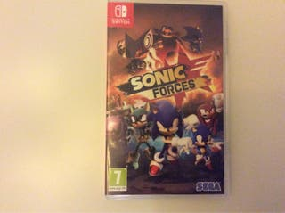 Sonic forces para switch