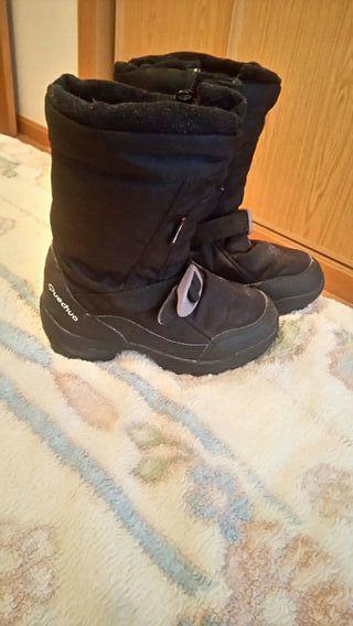 bota nieve