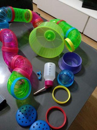 Laberinto para Hámsters, accesorios: