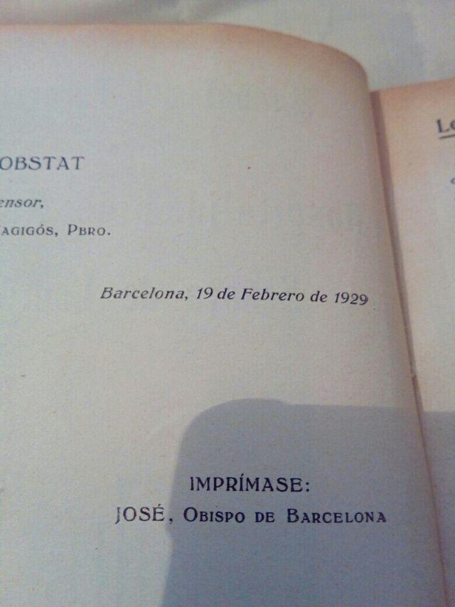 antiguo libro religioso 1929