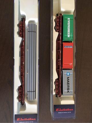 Plataformas electrotren HO