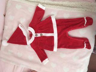 Pijama Papa Noel para bebe