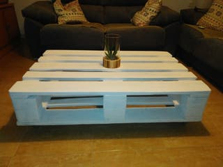mesa palets para salon