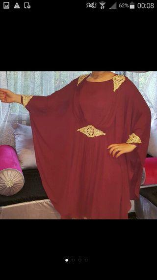 robe courte papillon