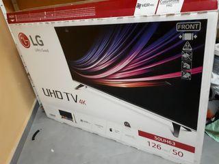 TV LED 4K 50 pulgadas. PARA REPARAR.