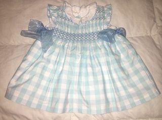 Vestido bebé 3 meses