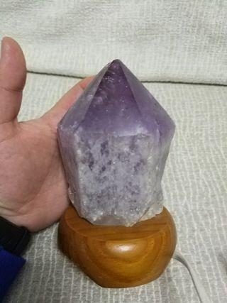 Lampara Piedra Amatista