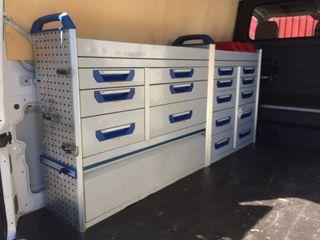 Mueble de trabajo furgoneta