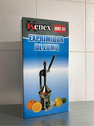 Exprimidor manual metalico