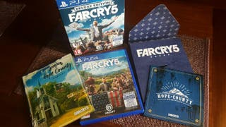 Farcry V 5 Deluxe Edition ps4