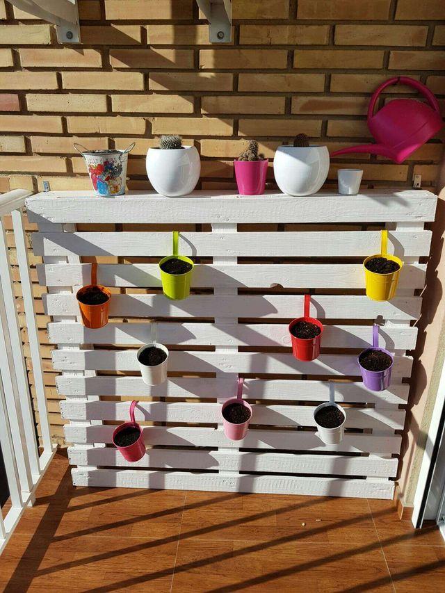 jardinera palet Jardinera Palet De Segunda Mano En Alboraya En WALLAPOP