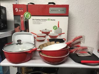 Set de cocina Royalty Line mas regalo gratis