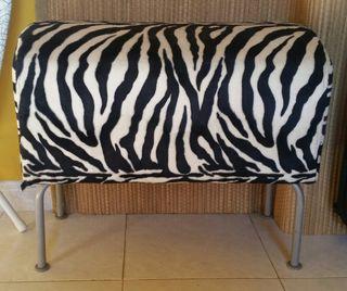 Puf asiento zebra