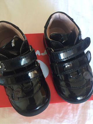 Zapatos niña garvalin talla 21