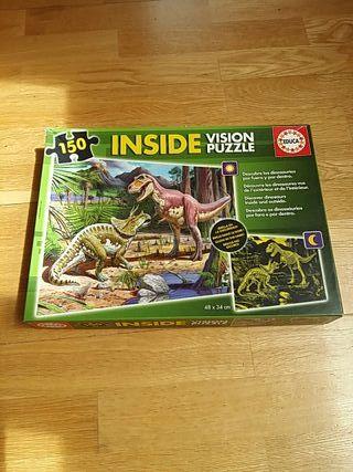 Puzzle 150 piezas, brilla en la oscuridad