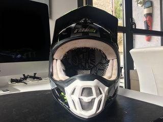Casco moto quad mx oneal monst