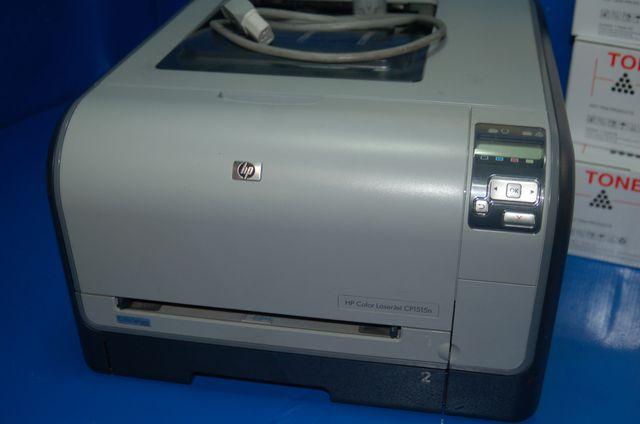 Impresora en color HP LaserJet CP1515n +4 TONERS