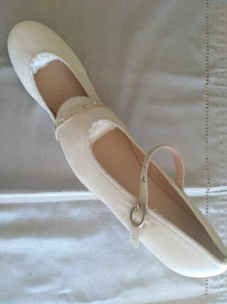 zapatos nuevos de comunión niña precio origina 66€