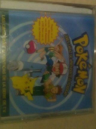 vendo un CD de canciones de pokemon