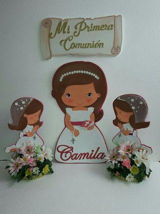 decoración comunión