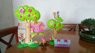 Casa del árbol Lalaloopsy