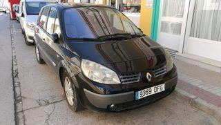 Renault Scenic 2005 Negro, 2.0 Gasolina