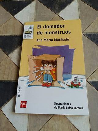 """Libro infantil """"El domador de mostruos"""""""