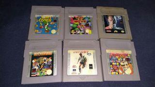 Juegos Nintendo Gameboy.