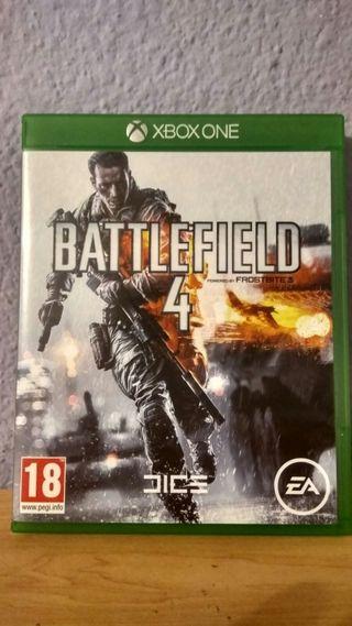 Battlefield 4 para xbox one.