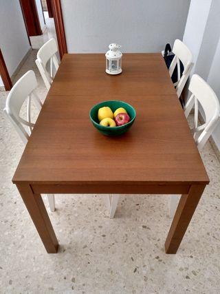 Mesa comedor extensible de segunda mano por 119 en huelva en wallapop - Wallapop mesa comedor ...