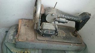singer antigua electrica y manual funciona