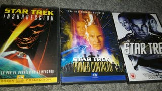 LOTE STAR TREK 3 DVD