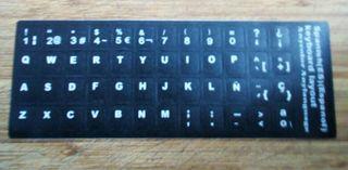 pegatinas teclado