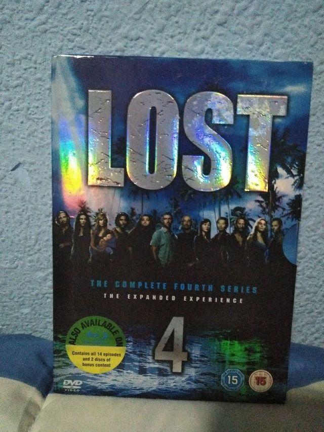 Cuarta temporada de Perdidos (Lost) en DVD. second hand for 7 € in ...