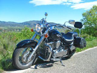 Moto Kawasaki Vulcan VN900 Classic - Solo 10.700km